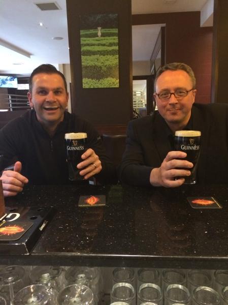 Jon and Bryce inScience Dublin